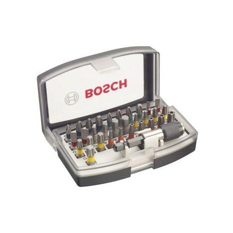 BOSCH 2607017319 Set de 32 puntas de atornillar PH1