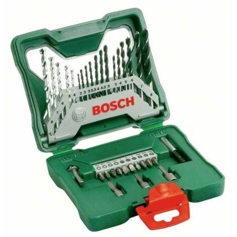 Bosch 2607019325 Maletín X-Line 33 puntas, brocas y llaves de vaso