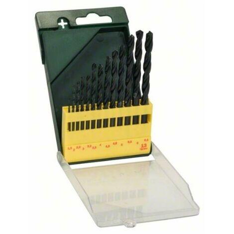 Bosch 2607019441 Set bricolaje 13 brocas para metal HSS-R