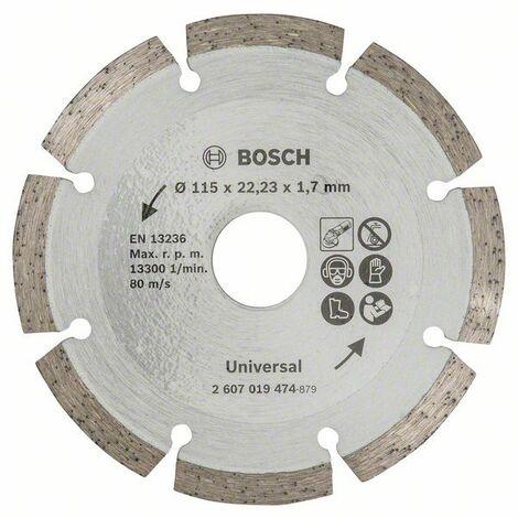 Bosch 2607019474 Disco abrasivo de corte diamante universal 115mm Promoline