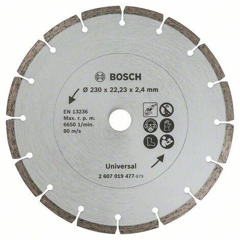 BOSCH 2607019477 Disco diamante materiales construcción, Ø 230 mm