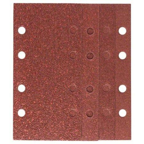 Bosch 2607019495 Set bricolaje 25 hojas de lija 93x185mm 8P Mix Promo para lijadoras orbital