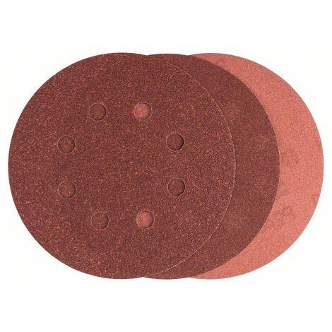 Bosch 2607019497 Set bricolaje 25 hojas de lija 125mm Mix Promoline para lijadoras excéntricas