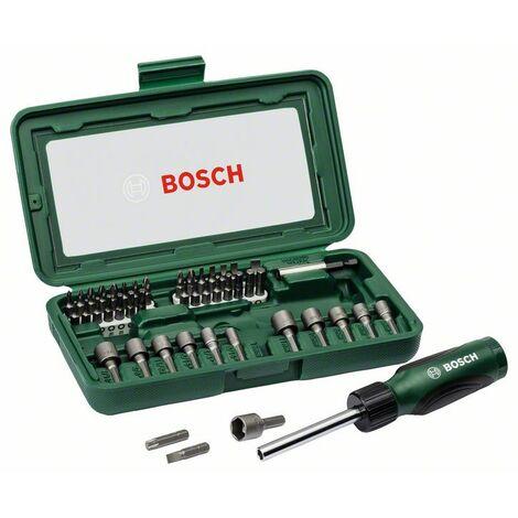 BOSCH 2607019504 Set con 46 unidades para atornillar