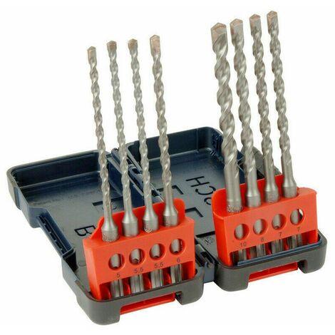 Bosch 2607019904 8 Piece SDS+ Drill Bit Set in Tough Case