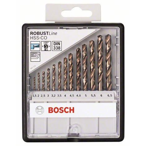 Bosch 2607019926 Set profesional brocas HSS-Co DIN338 Robustline set 13 uds