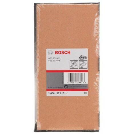 Bosch 2608190016 Patin pour abrasif Accessoire pour ponceuse 95 x 200 mm