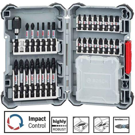 Bosch 2608522366 31 Piece Robust Impact Torsion Control Driver Drill Bit Set