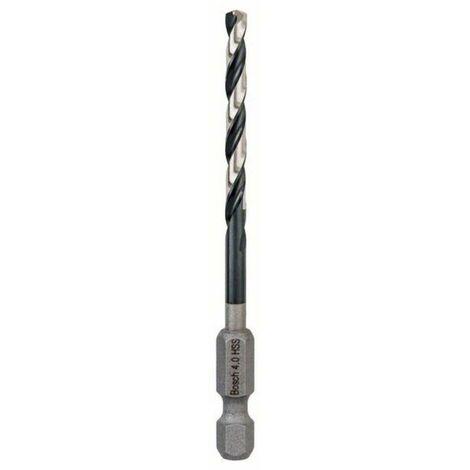 Bosch 2608577052 Broca helicoidal para metal Impact HSS hexagonal 4mm (envase 5 uds.)