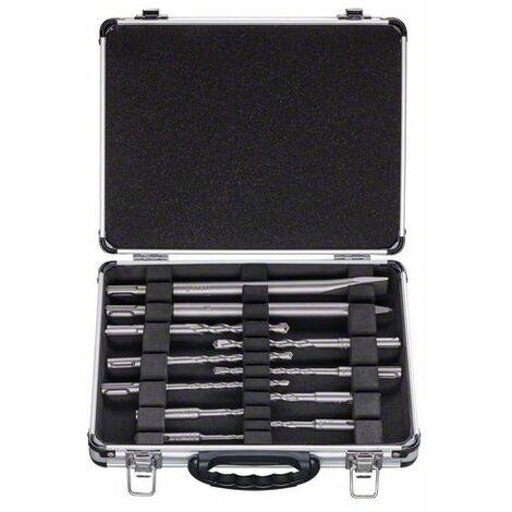 BOSCH 2608578765 Kit 11 Punteros y Brocas martillo SDS Plus