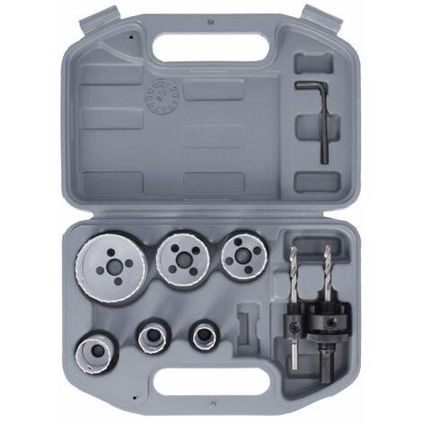 Bosch 2608580803 8 Piece HSS BiMetal Plumbers Holesaw Set
