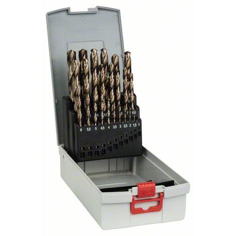 Bosch 2608587018 Set profesional brocas HSS-Co DIN338 Rosebox 1-13 25 uds