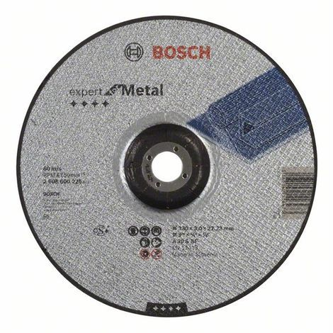 "main image of ""BOSCH 2608600226 Disco corte acodado Expert Metal A 30 S BF, 230, 3,0"""