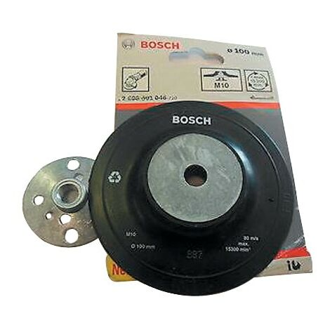 Bosch 2608601046 100mm RUBBER BACKING PAD