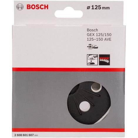Bosch 2608601607 Plato lijador para lijadoras GEX 125-150 AVE T semiduro