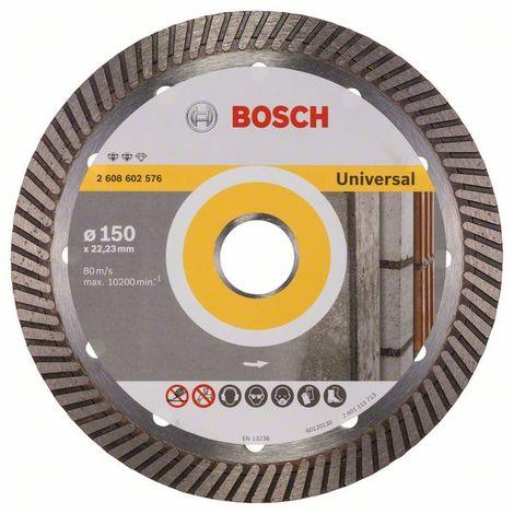 "main image of ""BOSCH 2608602576 Disco corte diamante Expert Universal Turbo 150x22,23x2,2"""
