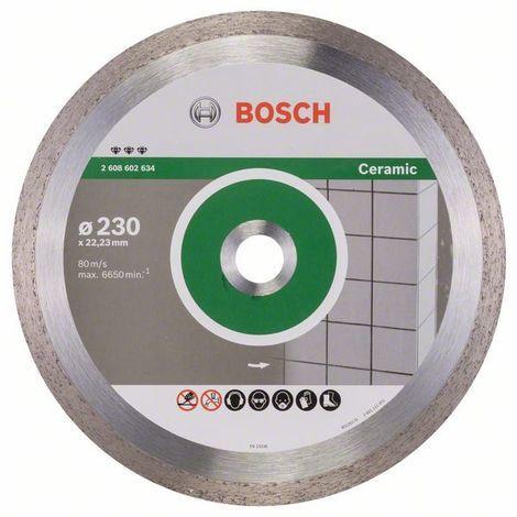 BOSCH 2608602634 Disco corte diamante Best Ceramic 230 x 22,23 x 2,4 x 10mm