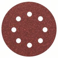 Bosch 2608605103 115Mm P40 5 Pce C430 Sanding Discs Wood-Paint Velcro 8 Hole