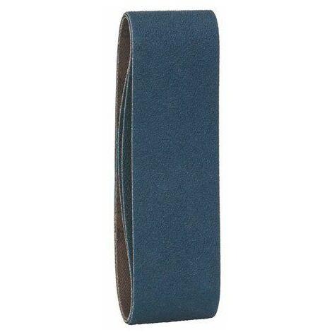 Bosch 2608606221 Ruban abrasif pour ponceuse à ruban 40 x 305 mm Grain 80 3 pièces