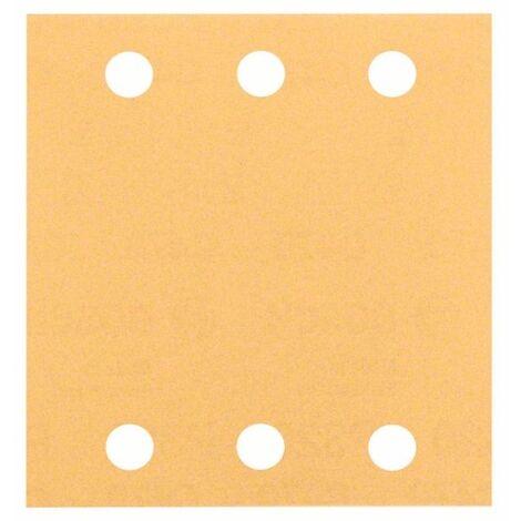 Bosch 2608607458 Hoja de lija para lijadoras orbital Best Wood and Paint C470 115x107mm 6P G120 10 uds
