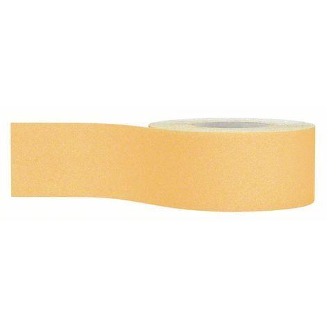 BOSCH 2608608733 Rollo de lija de papel C470 115 mm x 50 m, 80