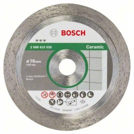 Bosch 2608615020 Disco de corte de diamante Best Ceramic 76x1,2x10mm