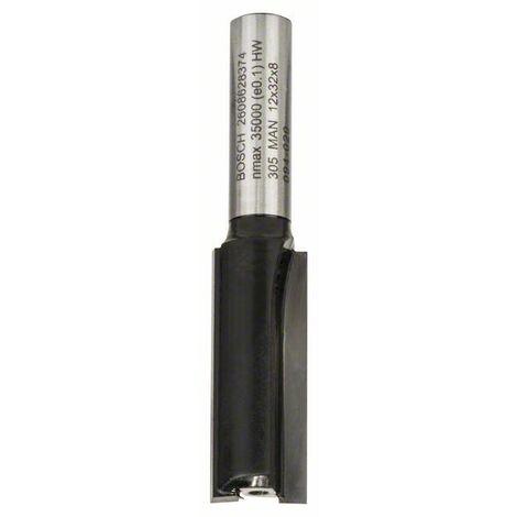 BOSCH 2608628374 Fresa de ranurar 8 mm D1 12 mm L 32 mm G 62 mm