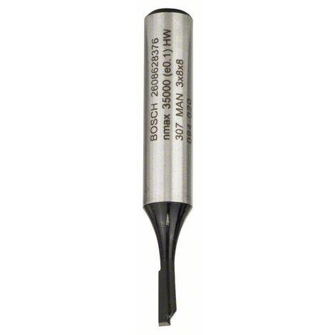 BOSCH 2608628376 Fresa de ranurar 8 mm D1 3 mm L 8 mm G 51 mm