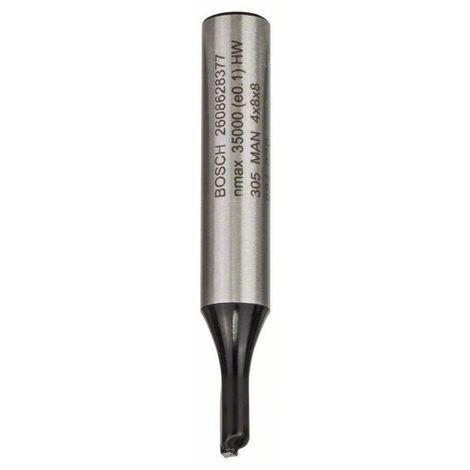 BOSCH 2608628377 Fresa de ranurar 8 mm D1 4 mm L 8 mm G 51 mm