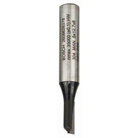 BOSCH 2608628378 Fresa de ranurar 8 mm D1 5 mm L 12,7 mm G 51 mm