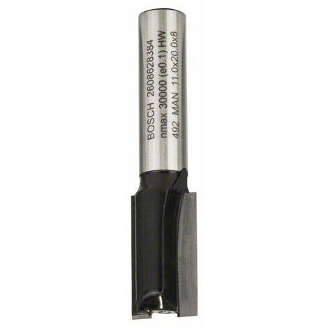 BOSCH 2608628384 Fresa de ranurar 8 mm D1 11 mm L 20 mm G 51 mm