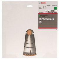 Bosch 2608640444 Lame de scie circulaire Optiline Wood 254 x 30 x 2,8 mm, 60, 1 pièce