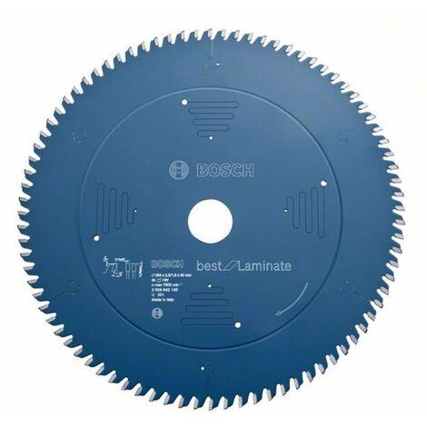 Bosch 2608642133 - Lame de Scie Circulaire Best pour Laminate, 216 x 30 x 2,5 mm, 60D