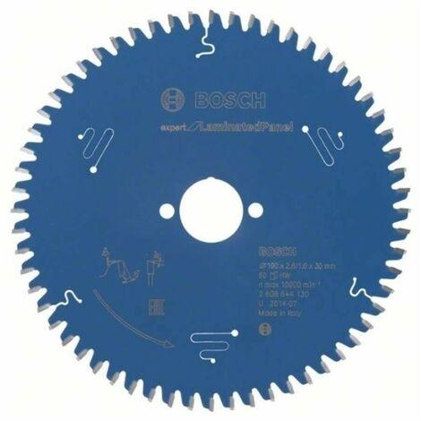 Bosch 2608644130 Disco de sierra circular CSB Expert LaminatedPanel 190x30x60D