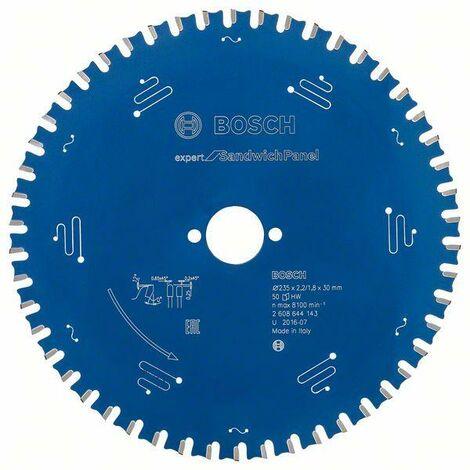 Bosch 2608644145 - Lame de Scie Circulaire Expert pour Sandwich Panel, 270 x 30 x 2,4 mm, 60D