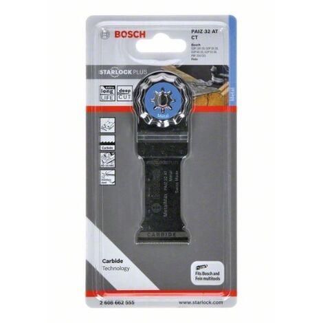 Bosch 2608662555 Accesorio para multiherramientas hoja de sierra Starlock PAIZ 32 AT metal carburo