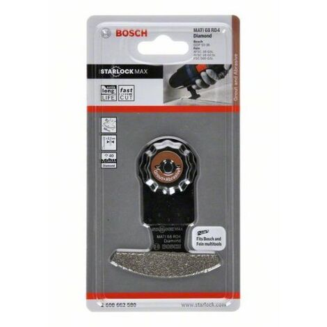 Bosch 2608662580 Accesorio para multiherramienta MATI 68 RD4 mortero abrasivo diamante