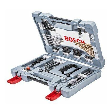 Bosch 2608P00234 Juego de brocas X-Line de 76 piezas