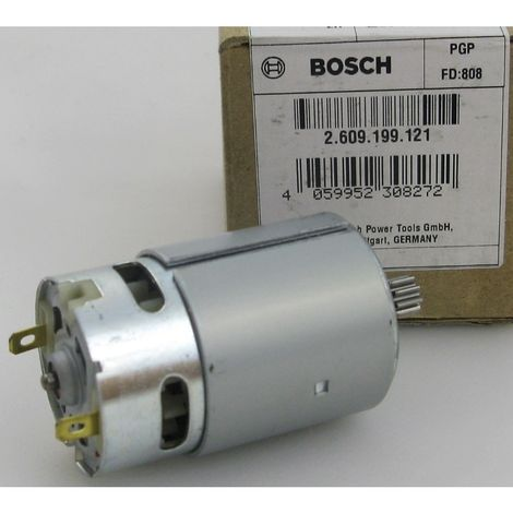 BOSCH 2609199121 original 2 609 199 121 Gleichstrommotor 14,4V Motor zu PSR 14,4 V - 3603J55400