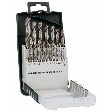 BOSCH 2609255132 Set de 19 brocas HSS-G: Gripbox