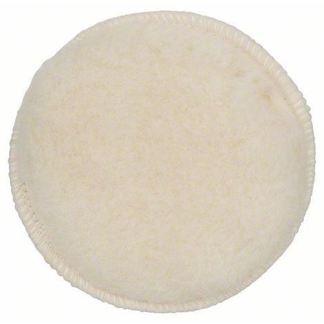 BOSCH 2609256049 Caperuza lana oveja lijadora excebtrica, 125 Cierre cardillo