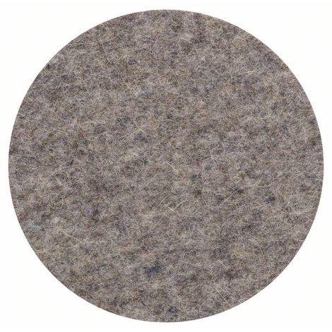 BOSCH 2609256054 Fieltro pulido lijadora excebtrica, 125 mm Cierre cardillo