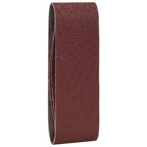 BOSCH 2609256187 Set hojas lija 3 piezas lijadora banda, calidad roja G= 40