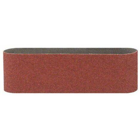 Bosch 2609256224 Bandes abrasives pour Ponceuses à bande Qualité rouge 100 x 560 Grain 150 Lot de 3 feuilles