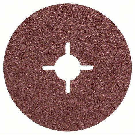 BOSCH 2609256244 Set 5 discos lijadores fibra amoladora corindón Ø 115 mm