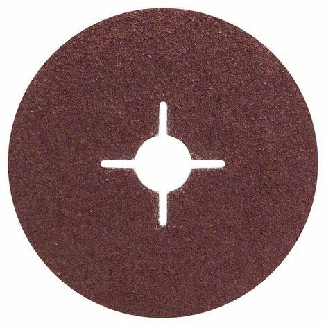 BOSCH 2609256250 Set 5 discos lijadores fibra amoladora corindón Ø 125 mm