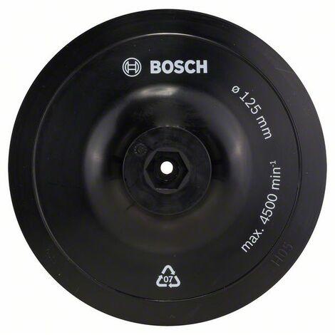 BOSCH 2609256280 Plato lijador taladro, 125 mm cierre cardillo D= 125 mm