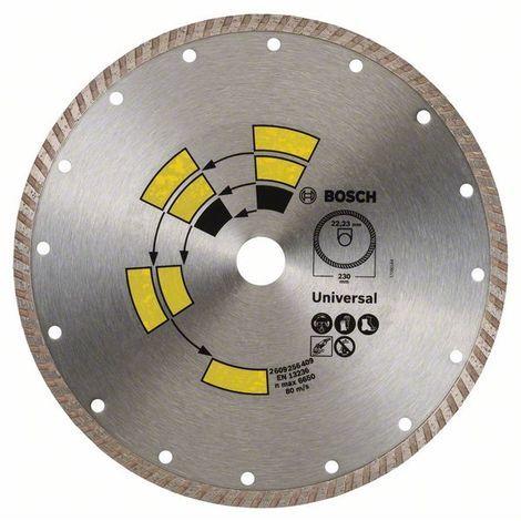 BOSCH 2609256409 Disco de corte de diamante Universal Turbo Ø 230 mm