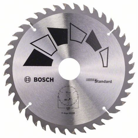 "main image of ""BOSCH 2609256815 Hoja de sierra circular STANDARD Ø 180 mm"""