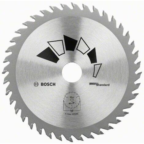 "main image of ""BOSCH 2609256819 Hoja de sierra circular STANDARD Ø 190 mm"""